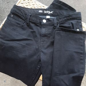 Cat and Jack girls black jeans size 12